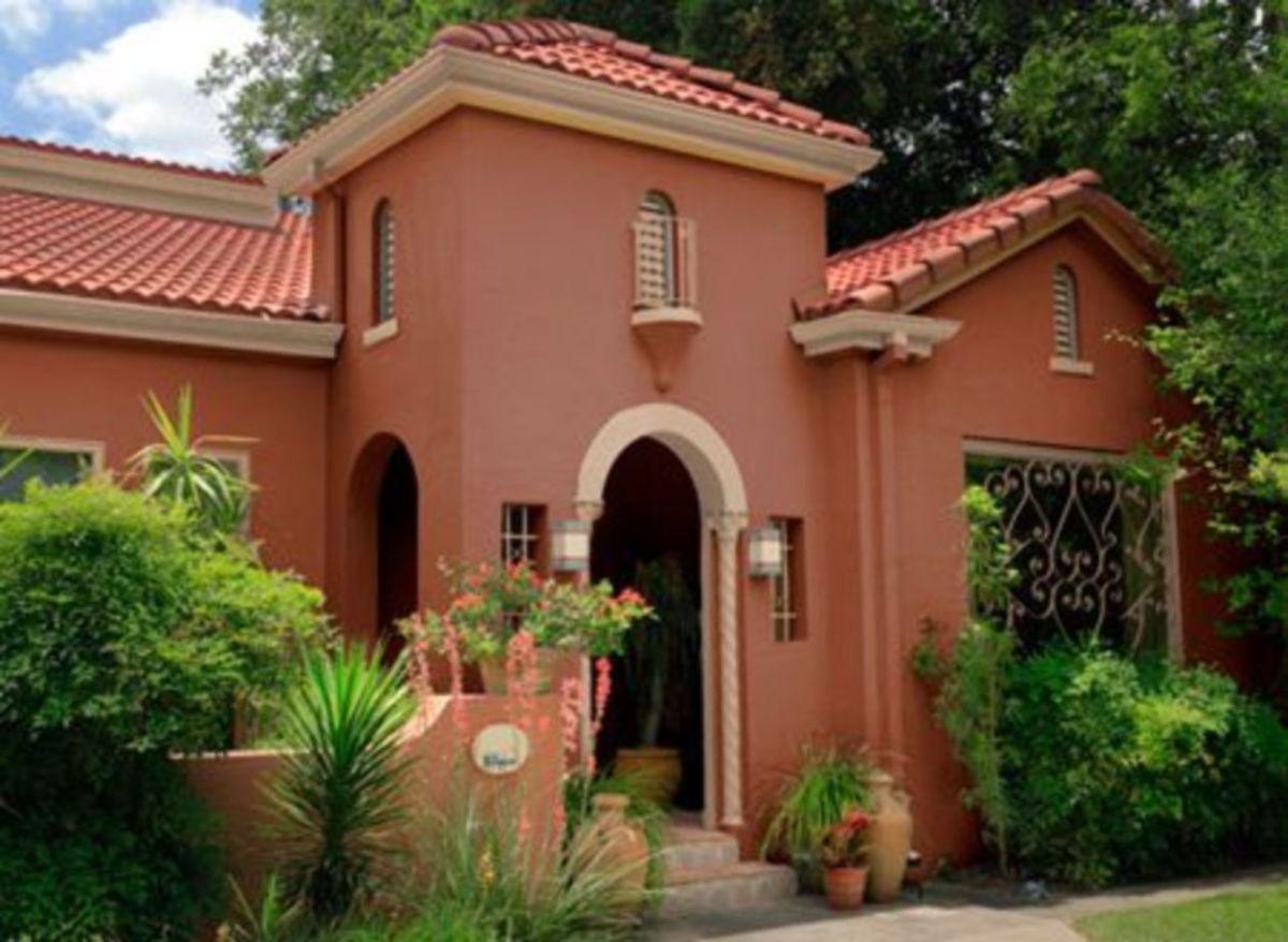 Spanish style exterior paint colors 40