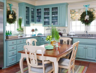 Stunning christmas decorating ideas for the kitchen 09