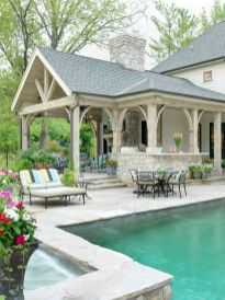 Stunning garden design ideas with stones 28
