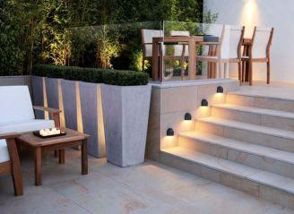 Stunning garden design ideas with stones 37