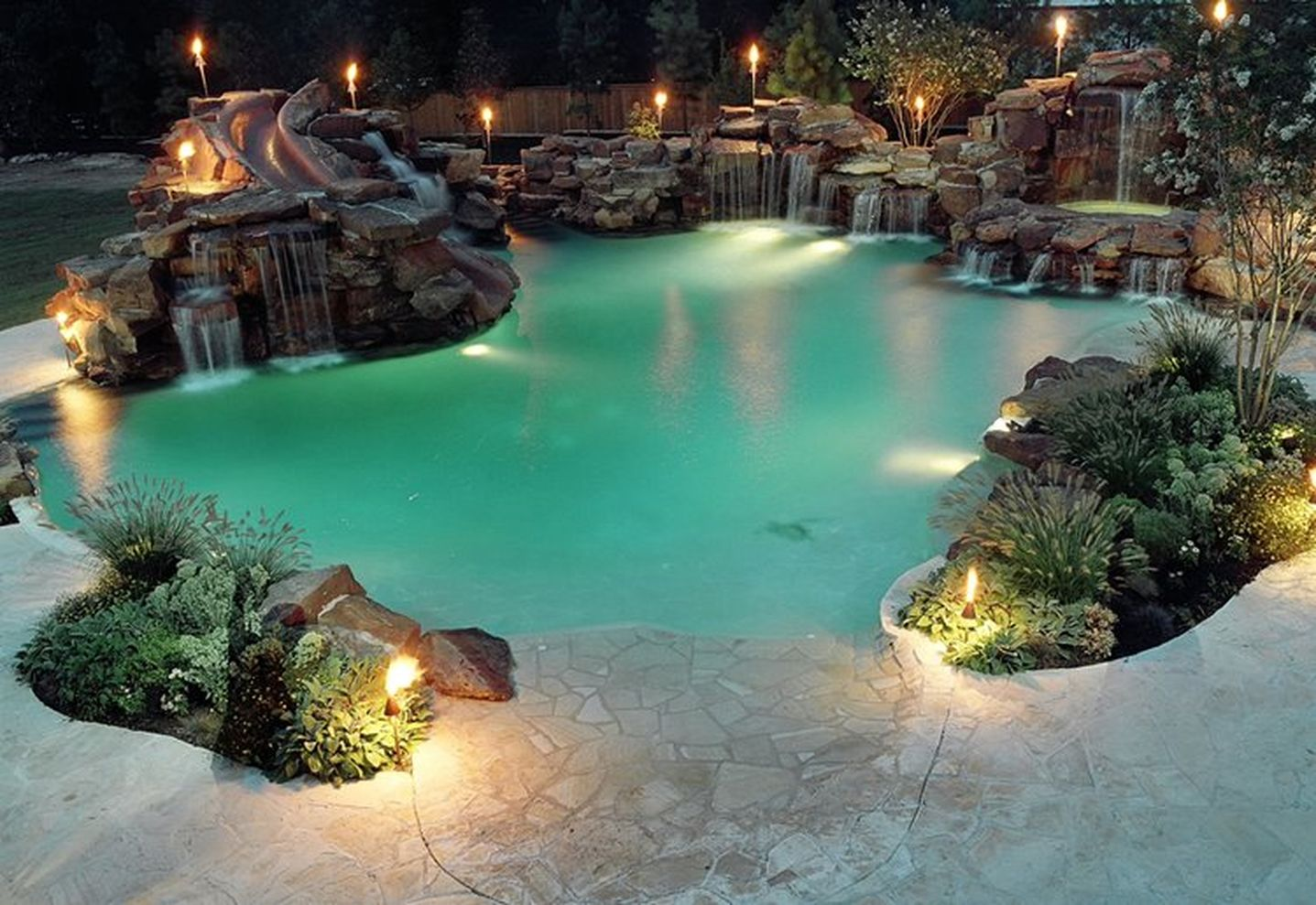 Stunning garden design ideas with stones 40