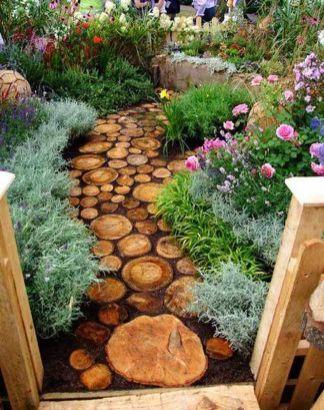 Stunning garden design ideas with stones 43