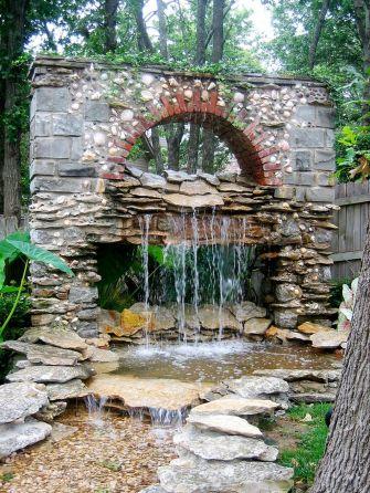 Stunning garden design ideas with stones 57