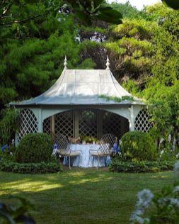 Stunning garden pergola ideas with roof 07