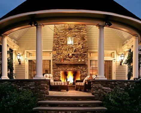 Stunning garden pergola ideas with roof 14