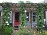 Stunning garden pergola ideas with roof 21