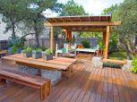 Stunning garden pergola ideas with roof 22