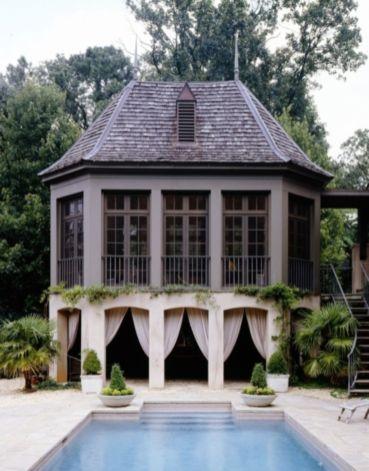 Stunning garden pergola ideas with roof 24
