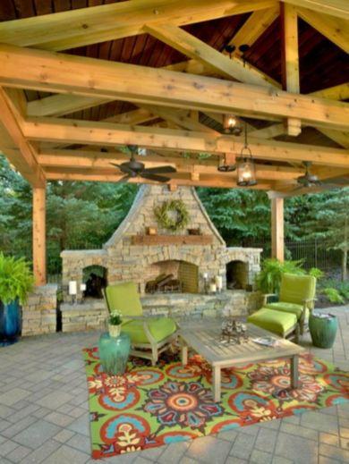 Stunning garden pergola ideas with roof 42