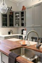 Stunning grey wash kitchen cabinets ideas 03