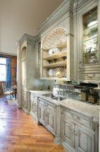 Stunning grey wash kitchen cabinets ideas 08