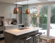 Stunning grey wash kitchen cabinets ideas 13