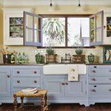 Stunning grey wash kitchen cabinets ideas 16