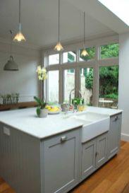 Stunning grey wash kitchen cabinets ideas 18