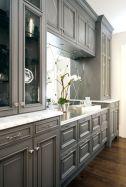 Stunning grey wash kitchen cabinets ideas 26