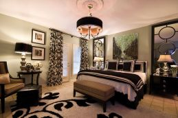Stunning red brown and black living room design ideas 70