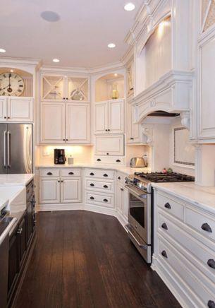Stylish kitchen designs ideas with corner sinks 10