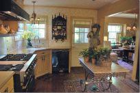 Stylish kitchen designs ideas with corner sinks 16