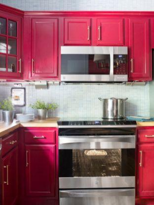 Stylish kitchen designs ideas with corner sinks 44