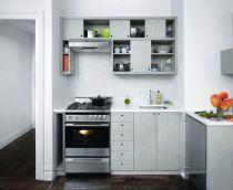 Stylish kitchen designs ideas with corner sinks 47