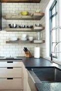Stylish kitchen designs ideas with corner sinks 60
