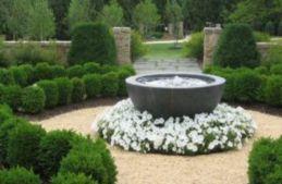 Stylish outdoor garden water fountains ideas 03