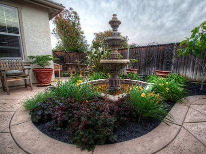 Stylish outdoor garden water fountains ideas 04