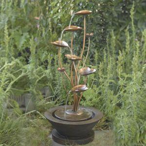 Stylish outdoor garden water fountains ideas 51