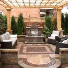 Stylish outdoor garden water fountains ideas 57