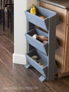 Amazing stand alone kitchen pantry design ideas (23)
