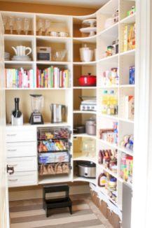 Amazing stand alone kitchen pantry design ideas (30)