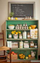 Amazing stand alone kitchen pantry design ideas (37)