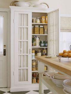 Amazing stand alone kitchen pantry design ideas (5)