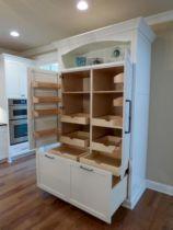 Amazing stand alone kitchen pantry design ideas (50)