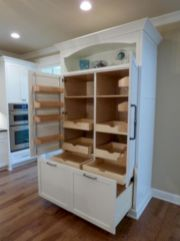 Amazing stand alone kitchen pantry design ideas (50)