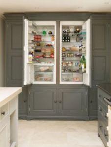 Amazing stand alone kitchen pantry design ideas (52)