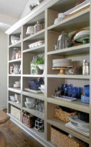 Amazing stand alone kitchen pantry design ideas (54)