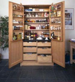 Amazing stand alone kitchen pantry design ideas (8)