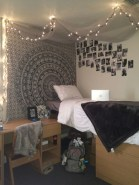 Cozy bohemian teenage girls bedroom ideas (23)