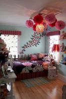 Cozy bohemian teenage girls bedroom ideas (31)