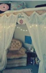 Cozy bohemian teenage girls bedroom ideas (38)