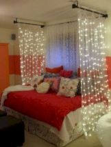 Cozy bohemian teenage girls bedroom ideas (39)