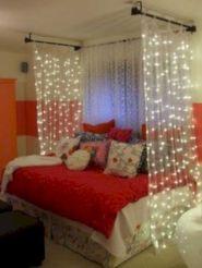Cozy bohemian teenage girls bedroom ideas (39)