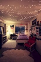 Cozy bohemian teenage girls bedroom ideas (46)