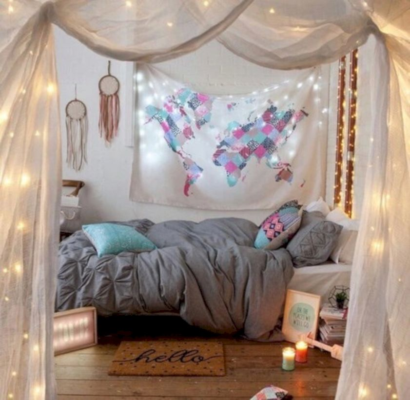 63 Cozy Bohemian Teenage Girls Bedroom Ideas