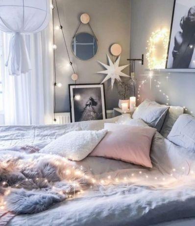 Cozy bohemian teenage girls bedroom ideas (55)