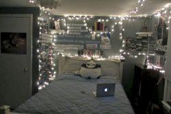 Cozy bohemian teenage girls bedroom ideas (9)