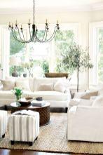 Creative diy beachy living room decor ideas (39)