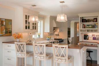 Inspiring u shaped kitchen ideas with breakfast bar (20)