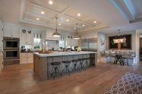 Inspiring u shaped kitchen ideas with breakfast bar (53)